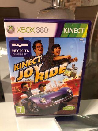KINECT JOY RIDE XBOX. 360