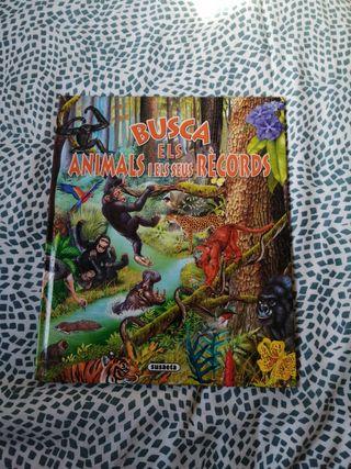 llibre busca els animals i els seus rècords