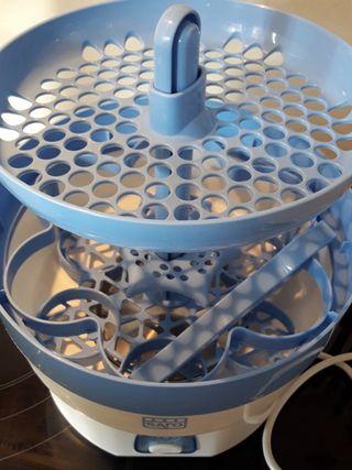 calienta biberones y esterilizador de biberones