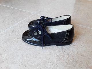Zapatos niña de piel, talla 23, marca DULCES