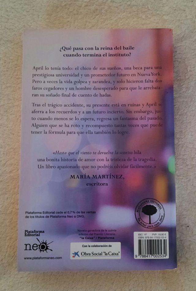 Libro Hasta Que El Viento Te Devuelva La Sonrisa De Segunda Mano Por 13 En Marbella En Wallapop