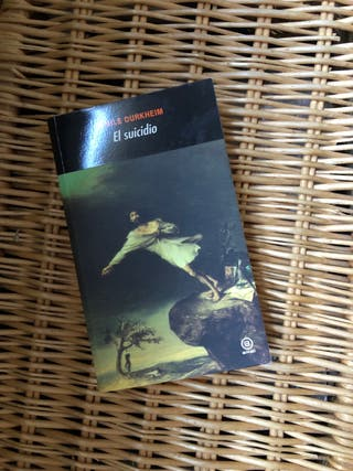Libro El Suicidio de Emilie Durkheim (Akai) UNED