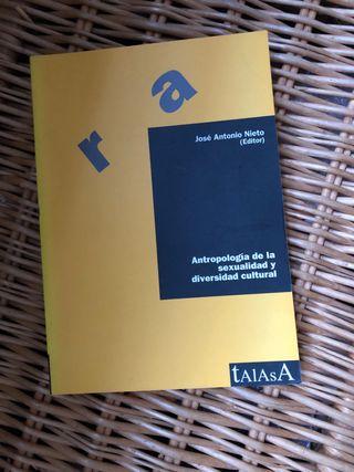 Libro Antropología de la sexualidad UNED