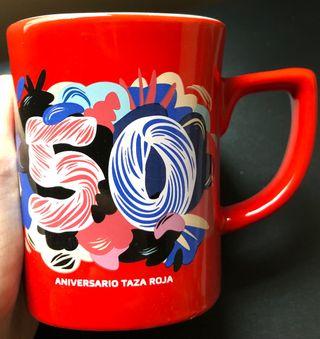 Taza 50 Aniversario Nescafé.Nueva a estrenar