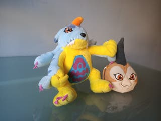 Pack peluches Digimon