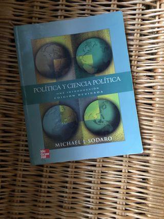 Libro Política y Ciencia Política UNED