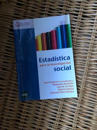 Libro Estadística para investigación social UNED
