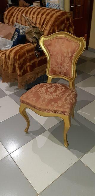 silla luis XVI endorada