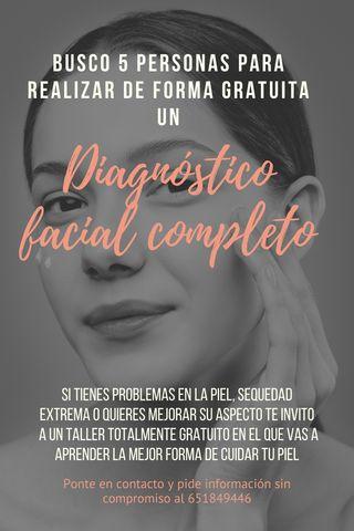 DIAGNOSTICO FACIAL GRATUITO
