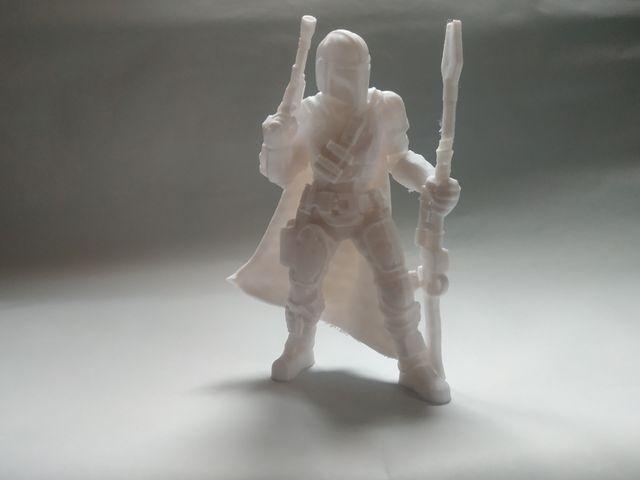 Figurine impression 3D mandalorian