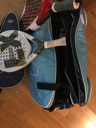 Bolsa y Raquetas padel