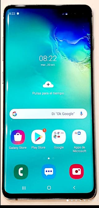 SAMSUNG Galaxy S10+ 128GB + funda Spigen