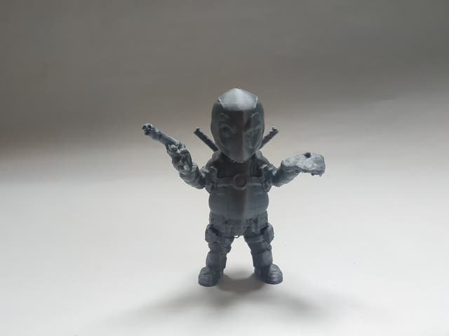 figurine impression 3D DeadPool