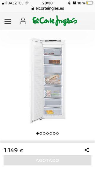 Congelador integrable Siemens