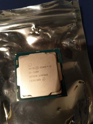 Intel Core I5-7400 CPU, Quad Core 3GHz, LGA 1151
