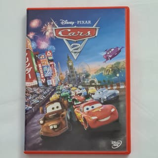 Cars 2. DVD Disney Pixar