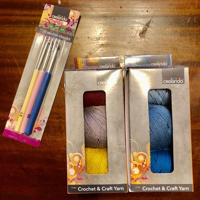 Crelando Crochet Starter Pack Set