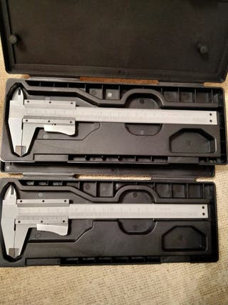 2 Calibres de mano 20cm