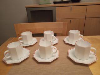 Servicio vasos, café y jarritas