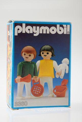 Playmobil ref. 3360 Niños 1982