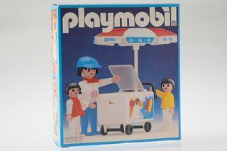 Playmobil ref. 3563 Niños y heladero 1982