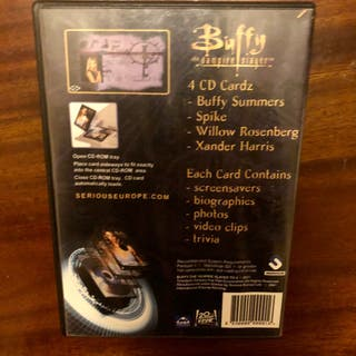 Buffy The Vampire Slayer 4 CD Cardz