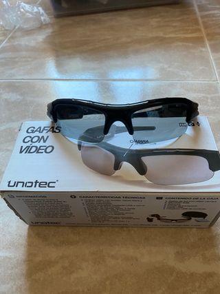 Gafas de sol con cámara de vídeo