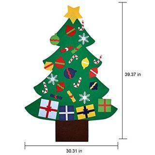Árbol navidad fieltro