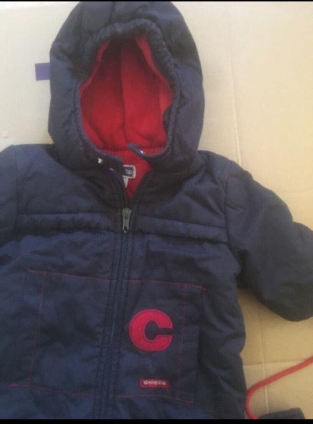 Buzo-abrigo-enterizo-bebe Chicco 3 meses