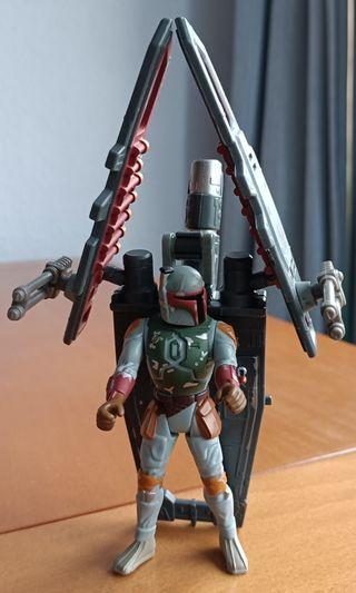 Figura articulada de Bobba Fett de Star Wars