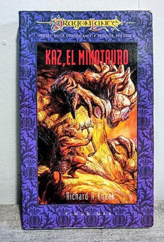 Kaz, el minotauro. Richard A. Knaak.