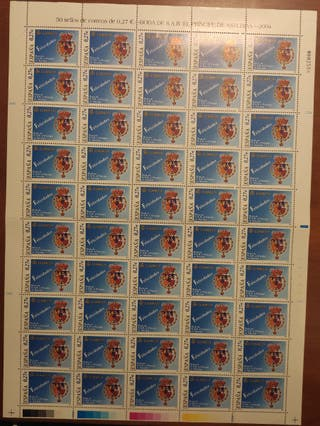Sellos Boda Príncipe de Asturias 2004
