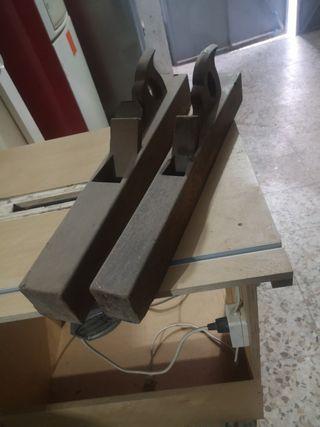 Garlopa antiguas de madera