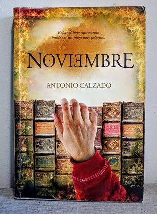 Noviembre. Antonio Calzado.