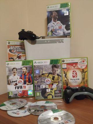 Xbox360 + juegos