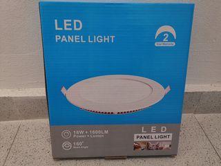 6 downlight LED luz cálida NUEVOS