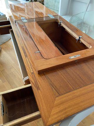 Mueble 3 cajones antigua máquina coser