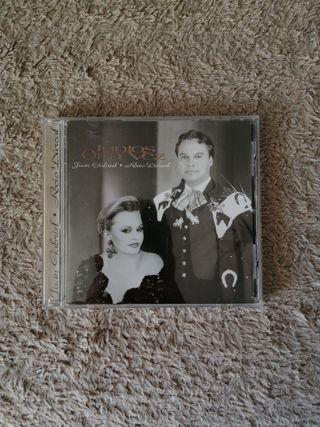 cd original de rocío durcal y Juan gabriel