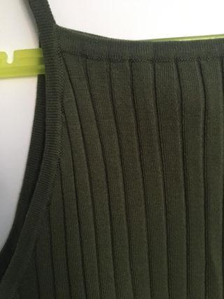 crop top verde kaki