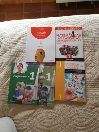 Libros 1°Bachillerato CCSS