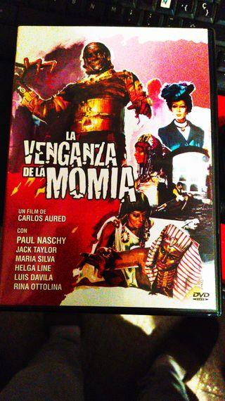 DVD LA VENGANZA DE LA MOMIA