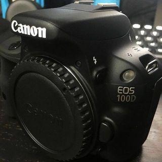 Cámara digital Canon EOS 100d (solo cuerpo)