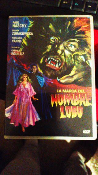 DVD LA MARCA DEL HOMBRE LOBO