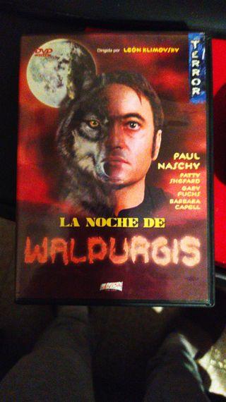 DVD LA NOCHE DE WALPURGIS