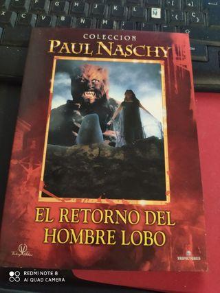 DVD EL RETORNO DEL HOMBRE LOBO