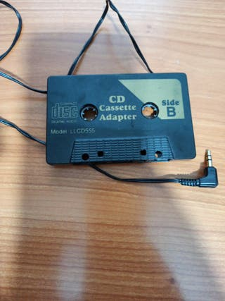 Adaptador de cassette a salida Jack 3.5