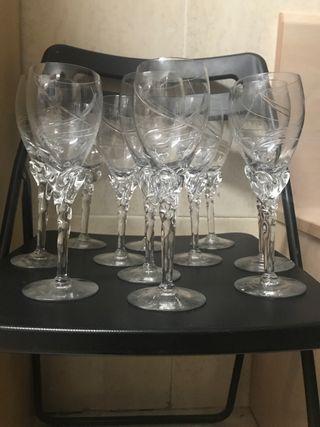 Copas Dali cristal de bohemia