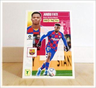 Ansu Fati Liga Este 2020-21 Barcelona