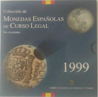 MONEDAS ESPAÑOLAS CURSO LEGAL AÑO 1999