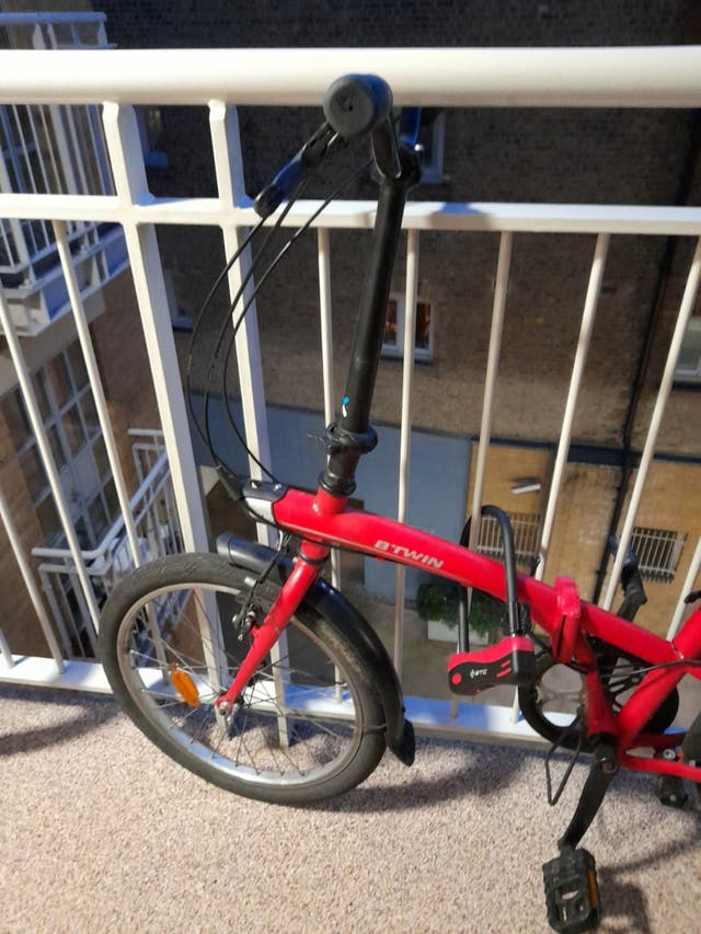 2nd hand Btwin foldable bike for sale